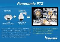 Git Security Awards díjazott lett a Vivotek panoráma és PTZ kombinációja